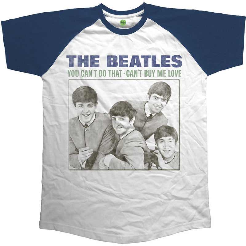 The Beatles You Can't Do That Raglan Men's T-Shirt - NME Merch