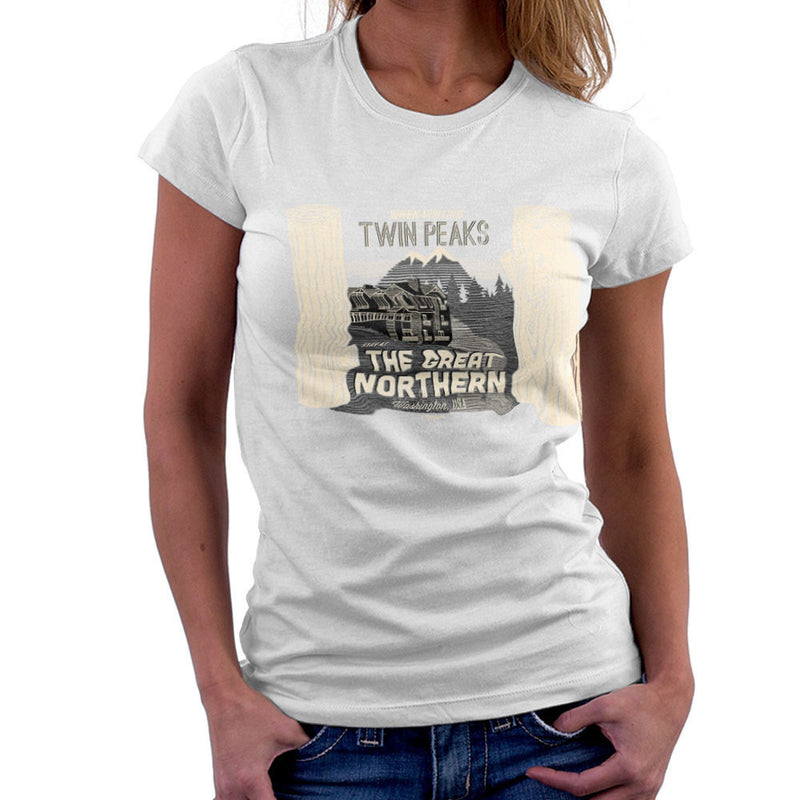 Inspired By Twin Peaks Stay at the Great Northern Women's T-Shirt
