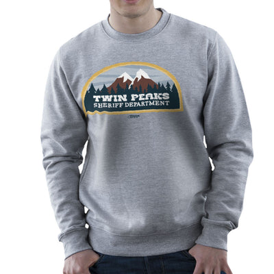 Inspired By Twin Peaks Sheriff Department Men's Sweatshirt - NME Merch