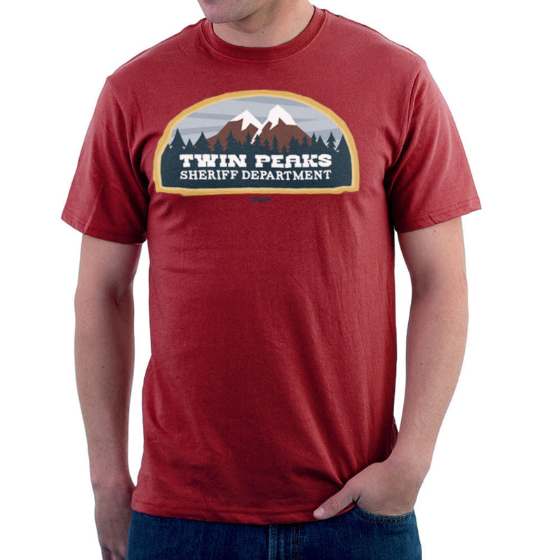 Inspired By Twin Peaks Sheriff Department Men's T-Shirt - NME Merch