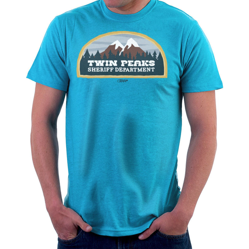Inspired By Twin Peaks Sheriff Department Men's T-Shirt