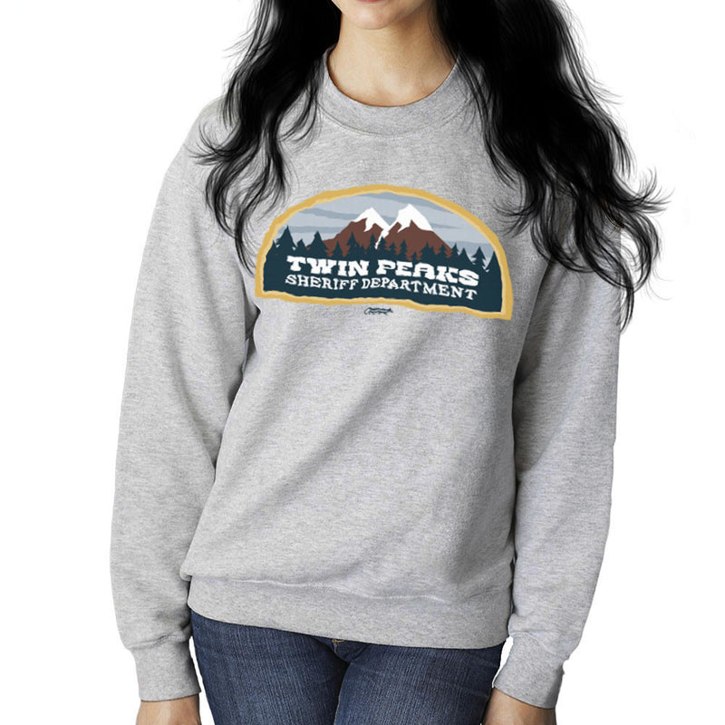 Inspired By Twin Peaks Sheriff Department Women's Sweatshirt