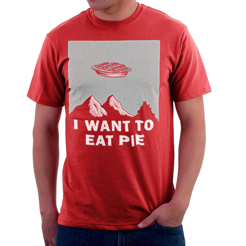 I Want to Eat Pie Inspired By Twin Peaks X Files Men's T-Shirt - NME Merch