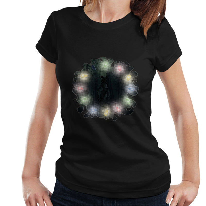 Stranger Things The Demogorgon Eleven Lights Women's T-Shirt