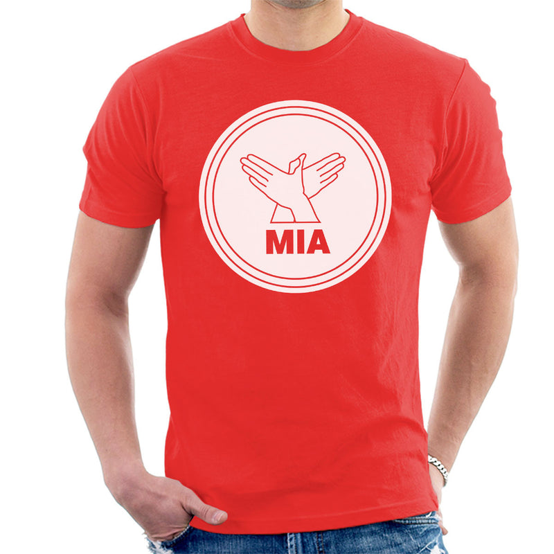 M.I.A. Bird Song White Men's T-Shirt - NME Merch