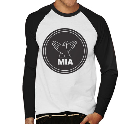 MIA Bird Song Black Men's Baseball Long Sleeved T-Shirt