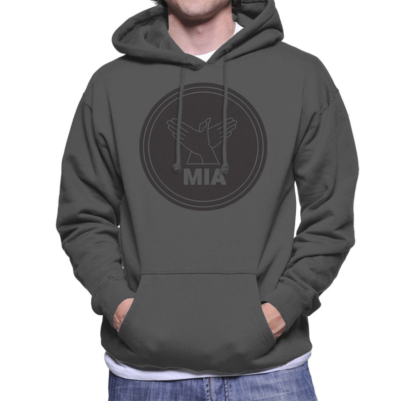 M.I.A. Bird Song Black Men's Hooded Sweatshirt - NME Merch