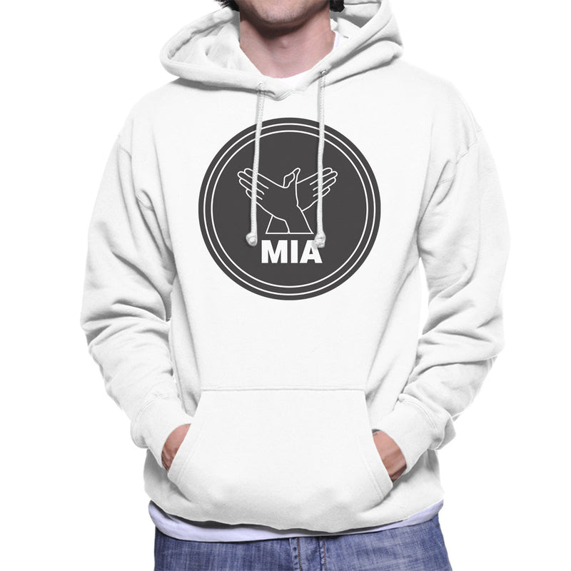 MIA Bird Song Black Men's Hooded Sweatshirt