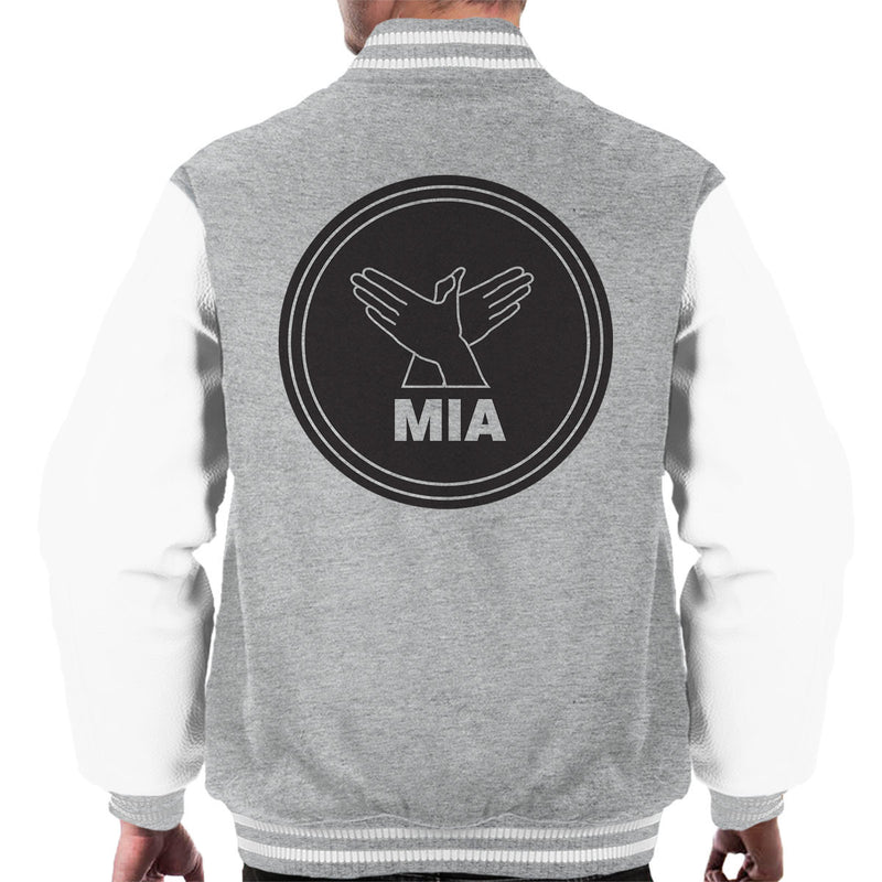 MIA Bird Song Black Men's Varsity Jacket