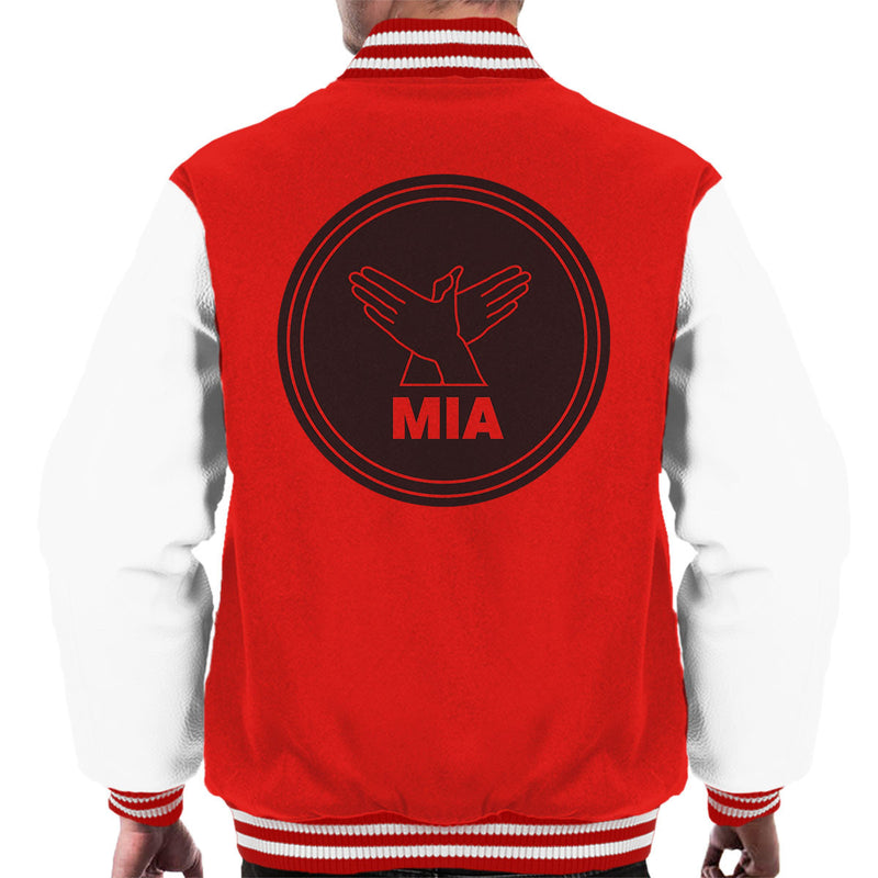 M.I.A. Bird Song Black Men's Varsity Jacket - NME Merch