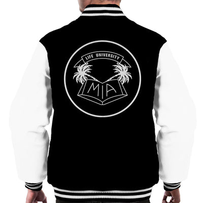 MIA Life University White Men's Varsity Jacket