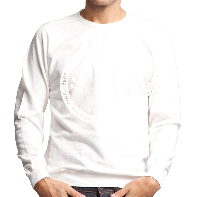 M.I.A. Uniting People Since 2003 White Men's Sweatshirt - NME Merch