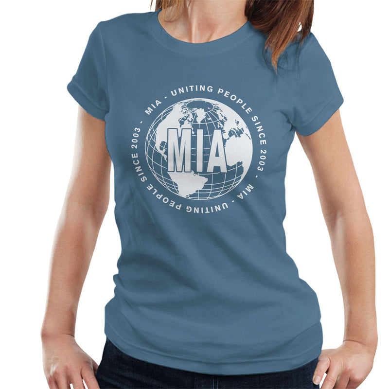 MIA Uniting People Since 2003 World White Women's T-Shirt - NME Merch