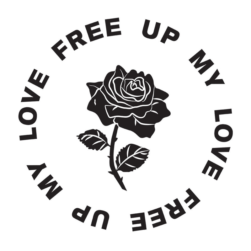 MIA Free Up My Love Rose Black Women's T-Shirt - NME Merch