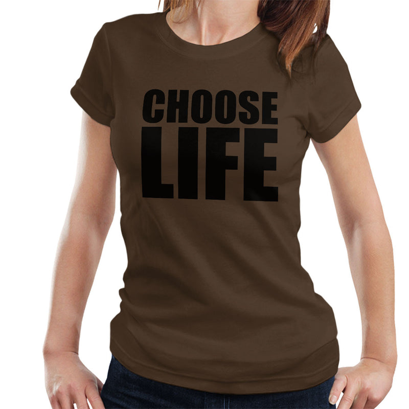Trainspotting T2 Inspired Choose Life Big Women's T-Shirt - NME Merch
