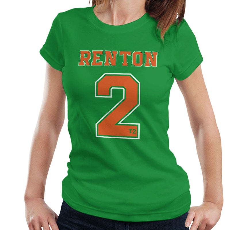 Trainspotting T2 Inspired Renton Number 2 Women's T-Shirt - NME Merch