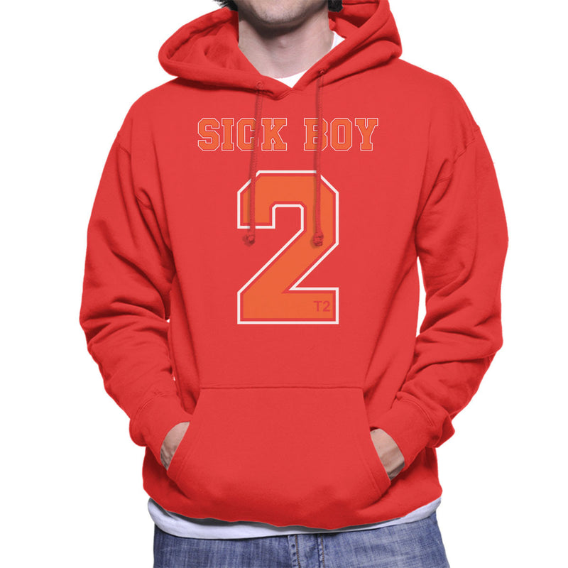 Trainspotting T2 Inspired Sick Boy Number 2 Men's Hooded Sweatshirt - NME Merch