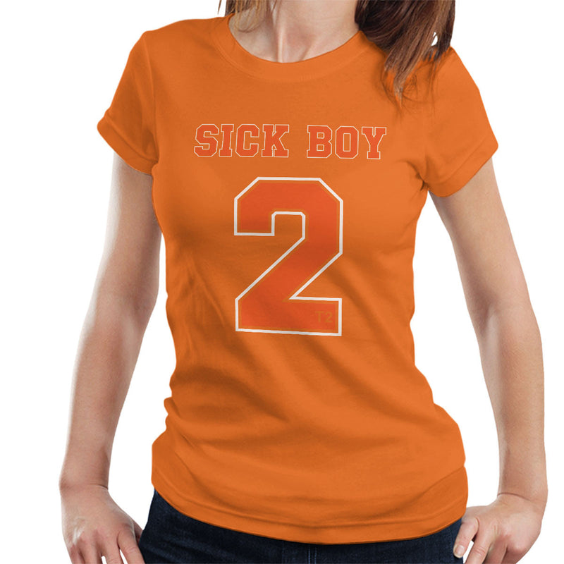 Trainspotting T2 Inspired Sick Boy Number 2 Women's T-Shirt