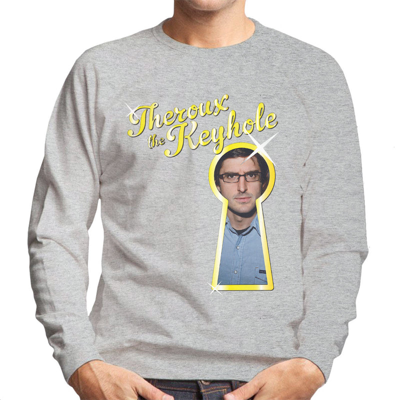 Louis Theroux Inspired The Keyhole Men's Sweatshirt