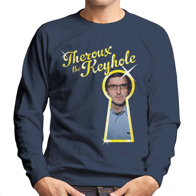 Louis Theroux Inspired The Keyhole Men's Sweatshirt - NME Merch