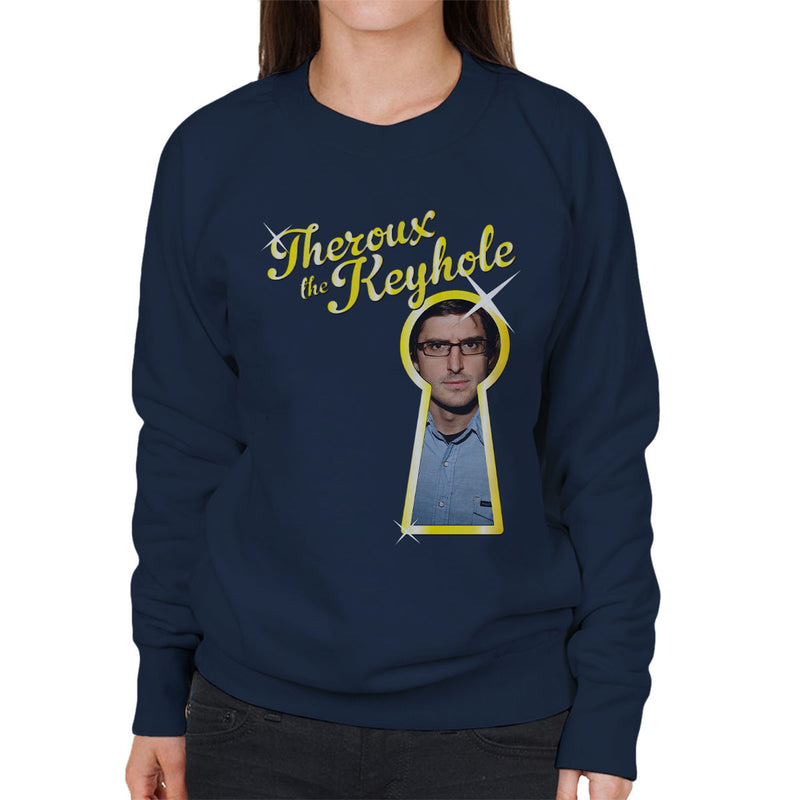 Louis Theroux Inspired The Keyhole Women's Sweatshirt