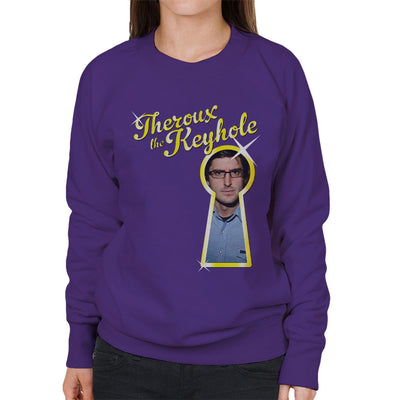 Louis Theroux The Keyhole Women's Sweatshirt