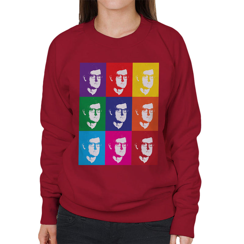 Louis Theroux Inspired Andy Warhol Women's Sweatshirt - NME Merch