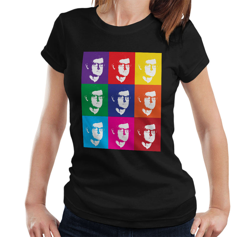 Louis Theroux Inspired Andy Warhol Women's T-Shirt
