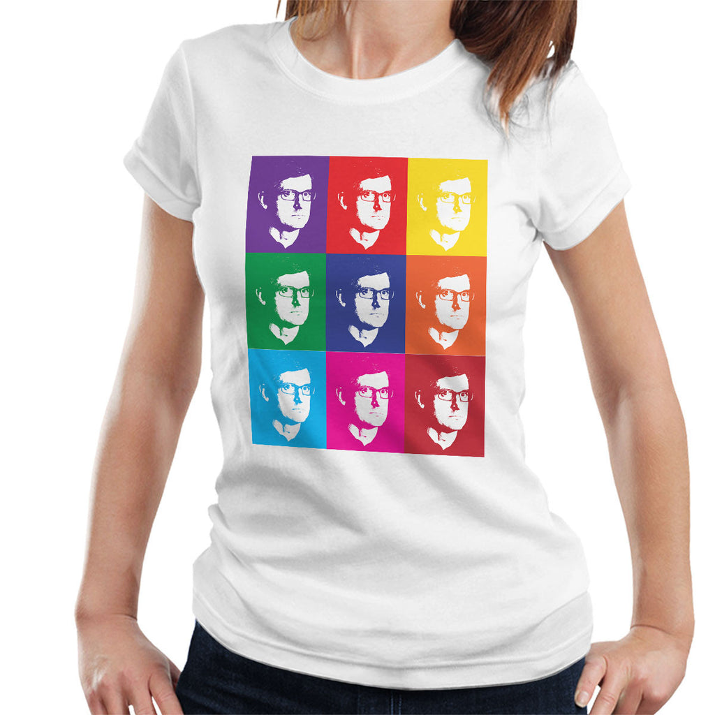 Louis Theroux Andy Warhol Women's T-Shirt