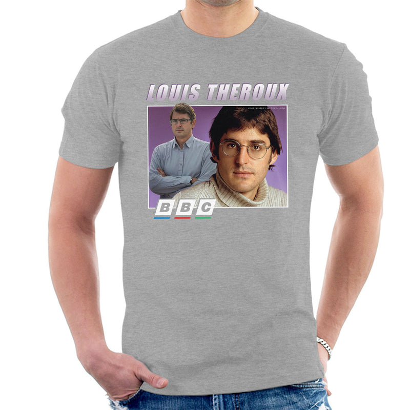 Louis Theroux Inspired Retro BBC Men's T-Shirt - NME Merch