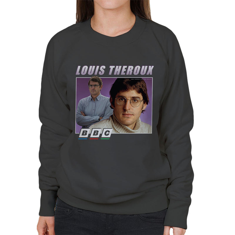 Louis Theroux Inspired Retro BBC Women's Sweatshirt - NME Merch