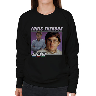 Louis Theroux Retro BBC Women's Sweatshirt