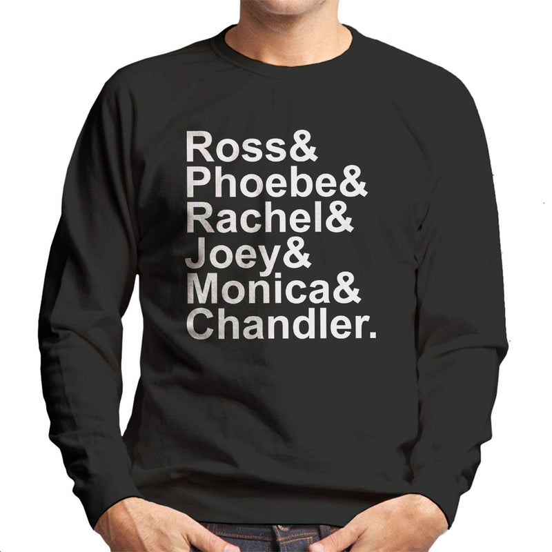 Friends Inspired Characters Men's Sweatshirt - NME Merch