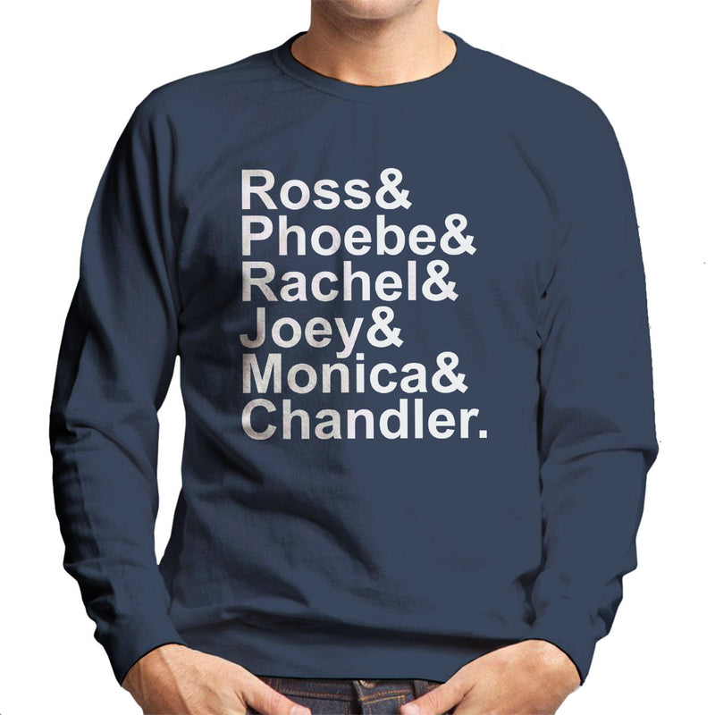 Friends Characters Men's Sweatshirt