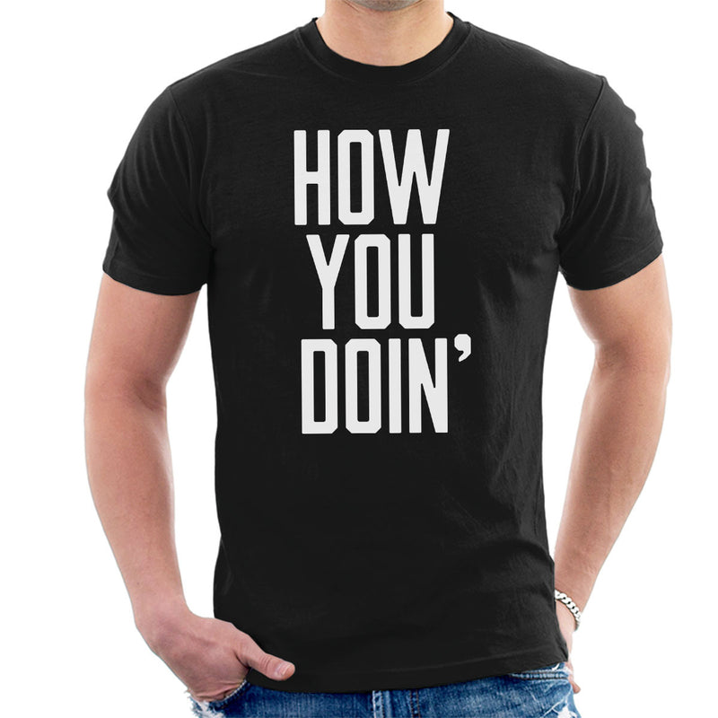 Friends Inspired Joey How You Doin Men's T-Shirt