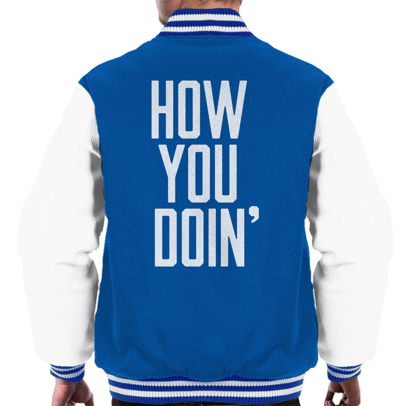 Friends Inspired Joey How You Doin Men's Varsity Jacket - NME Merch