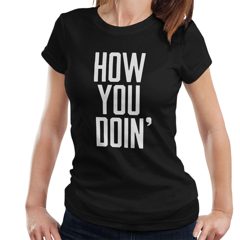 Friends Inspired Joey How You Doin Women's T-Shirt - NME Merch