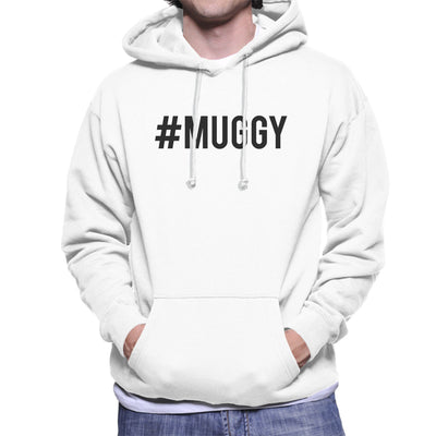 Love Island Hashtag Muggy Mike Black Men's Hooded Sweatshirt - NME Merch
