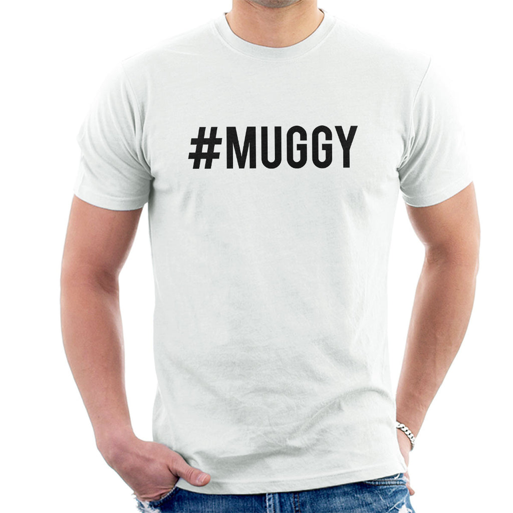 Love Island Hashtag Muggy Mike Black Men's T-Shirt