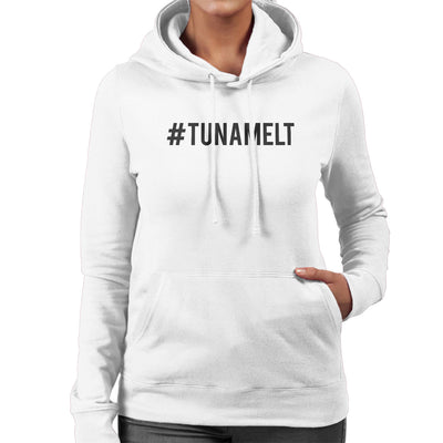 Love Island Hashtag Tuna Melt Black Women's Hooded Sweatshirt - NME Merch