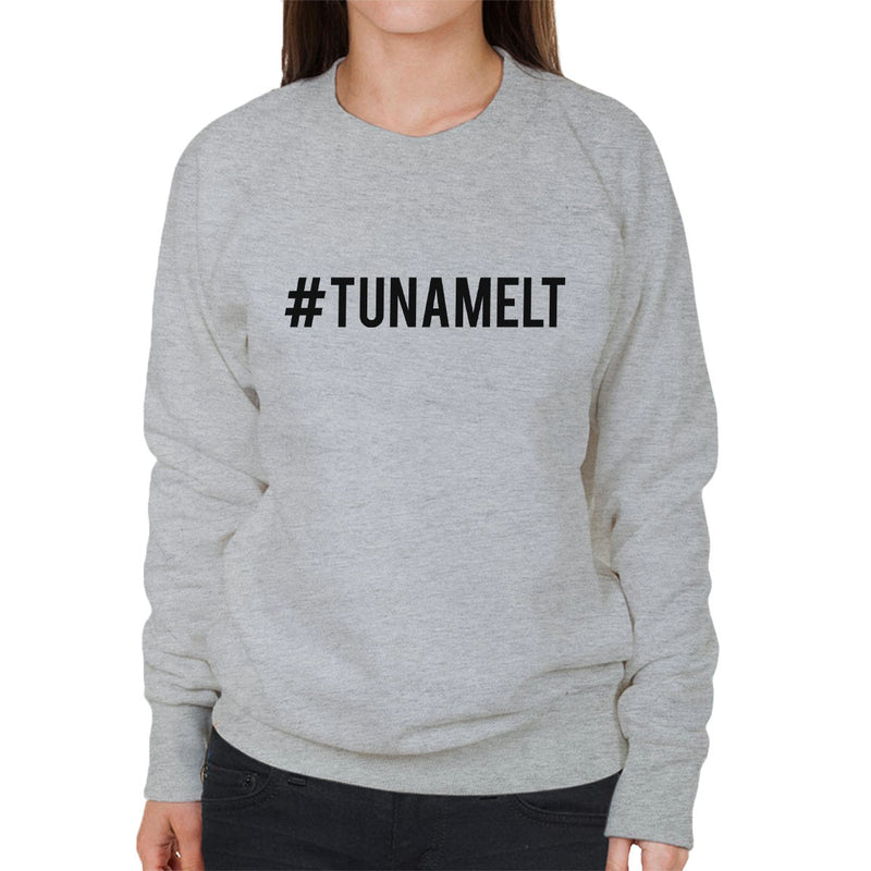Love Island Hashtag Tuna Melt Black Women's Sweatshirt - NME Merch