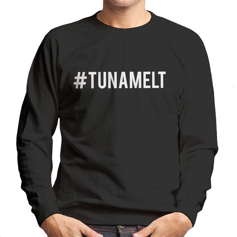 Love Island Hashtag Tuna Melt White Men's Sweatshirt