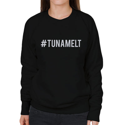 Love Island Hashtag Tuna Melt White Women's Sweatshirt