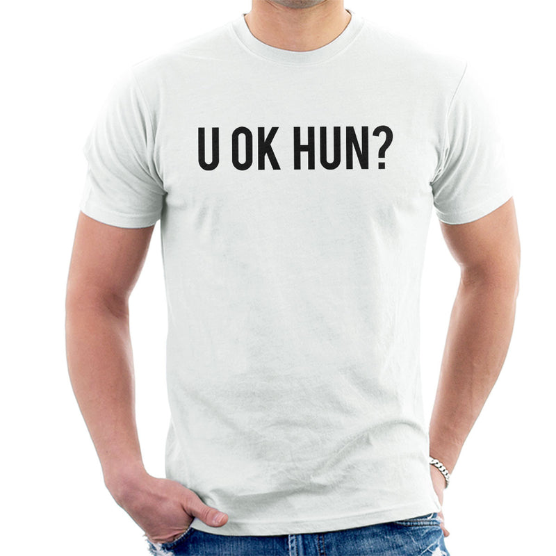 Love Island U OK HUN Black Men's T-Shirt