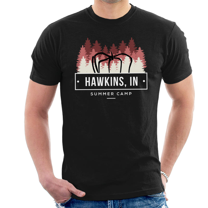 Inspired By Stranger Things Hawkins Summer Camp Men's T-Shirt - NME Merch