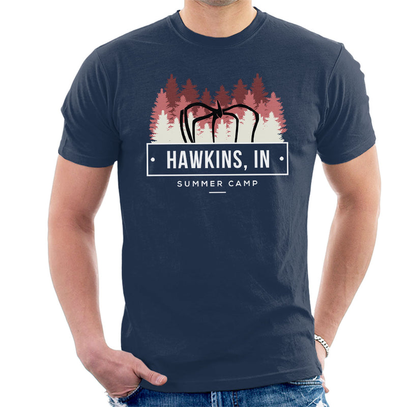 Stranger Things Hawkins Summer Camp Men's T-Shirt