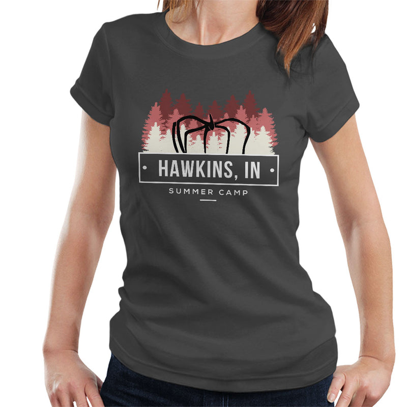 Inspired By Stranger Things Hawkins Summer Camp Women's T-Shirt - NME Merch