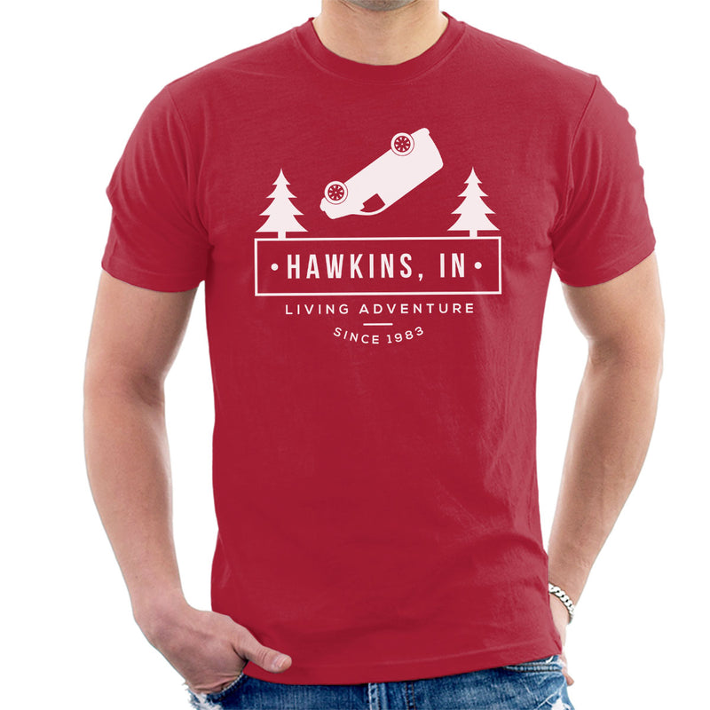 Stranger Things Hawkins Living Adventure Men's T-Shirt