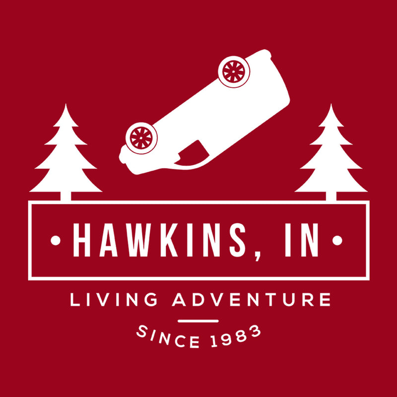 Inspired By Stranger Things Hawkins Living Adventure Men's T-Shirt - NME Merch