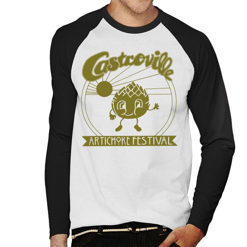 Stranger Things Castroville Artichoke Festival Men's Baseball Long Sleeved T-Shirt - NME Merch